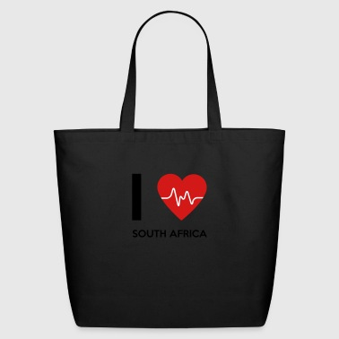 I Love South Africa - Eco-Friendly Cotton Tote