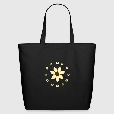 flower pattern - Eco-Friendly Cotton Tote