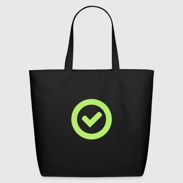 Check - Eco-Friendly Cotton Tote