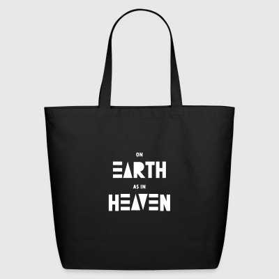 On earth as in heaven - Eco-Friendly Cotton Tote