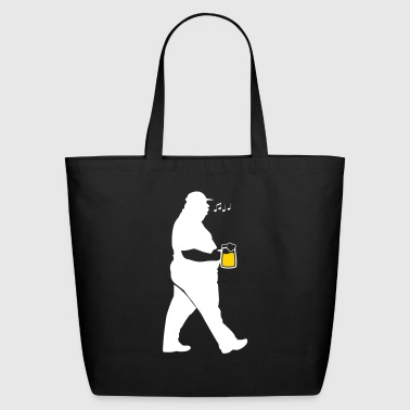 Dicker You With A Glass Of Beer - Eco-Friendly Cotton Tote