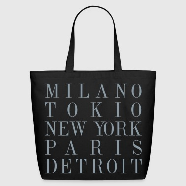 Detroit - Eco-Friendly Cotton Tote