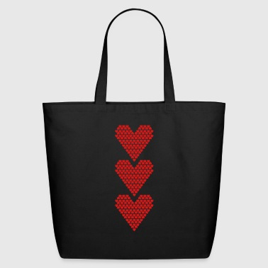 Love Love Love - Eco-Friendly Cotton Tote