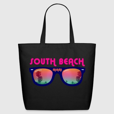 South Beach Miami  - Eco-Friendly Cotton Tote