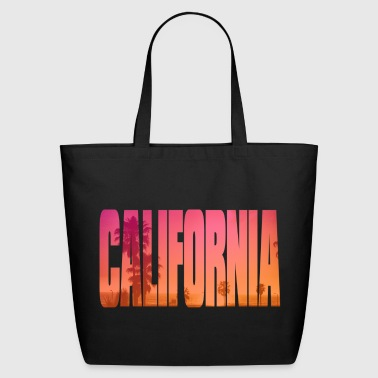 california - Eco-Friendly Cotton Tote