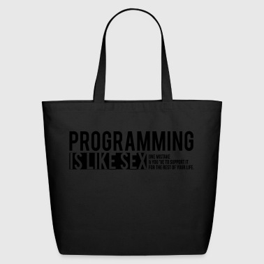 programmer T-shirt - Eco-Friendly Cotton Tote