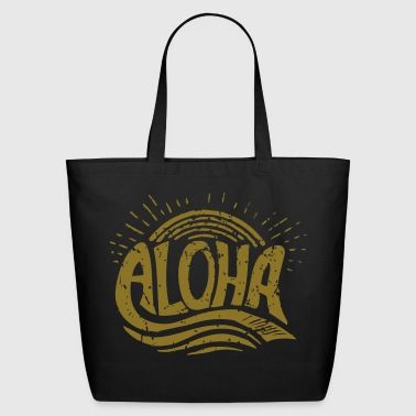 Aloha Sunrise - Eco-Friendly Cotton Tote