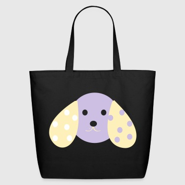 woof woof design - Eco-Friendly Cotton Tote