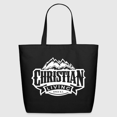 Christian Living - Eco-Friendly Cotton Tote