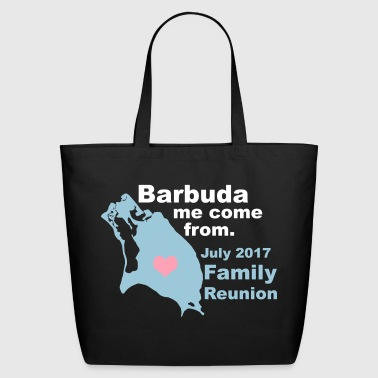 Barbuda Family Reunion - Eco-Friendly Cotton Tote