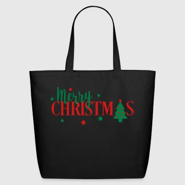 Merry Christmas - Eco-Friendly Cotton Tote