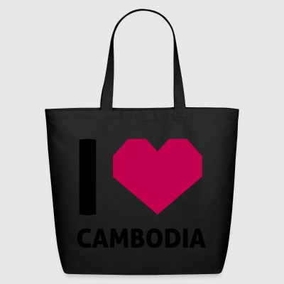 I Love Cambodia - Eco-Friendly Cotton Tote
