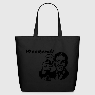 Weekend! - Eco-Friendly Cotton Tote