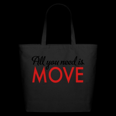 move - Eco-Friendly Cotton Tote