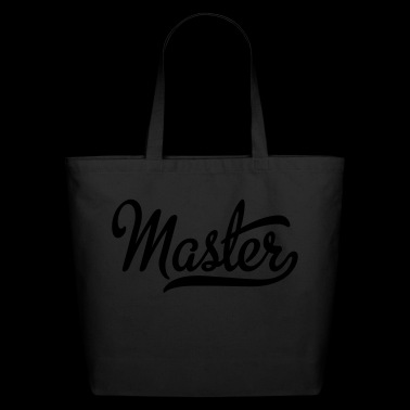 master - Eco-Friendly Cotton Tote