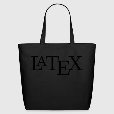 LaTeX logo - Eco-Friendly Cotton Tote
