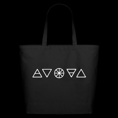Alchemy Symbols Nature - Eco-Friendly Cotton Tote
