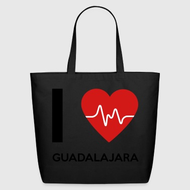 I Love Guadalajara - Eco-Friendly Cotton Tote