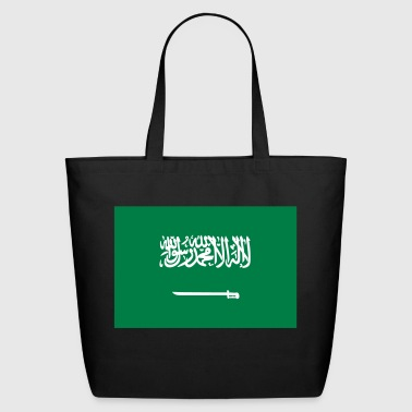 National Flag Of Saudi Arabia - Eco-Friendly Cotton Tote
