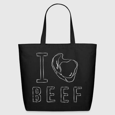 I BEEF - Eco-Friendly Cotton Tote