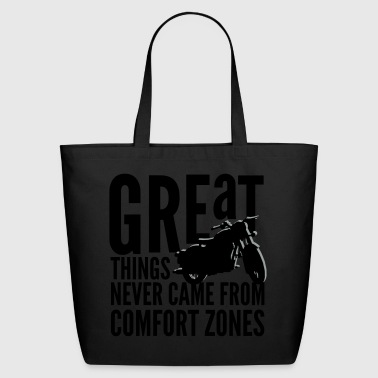 great things motorcycle rider - Eco-Friendly Cotton Tote