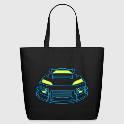 Race car - Eco-Friendly Cotton Tote