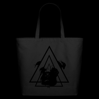 Pug. - Eco-Friendly Cotton Tote