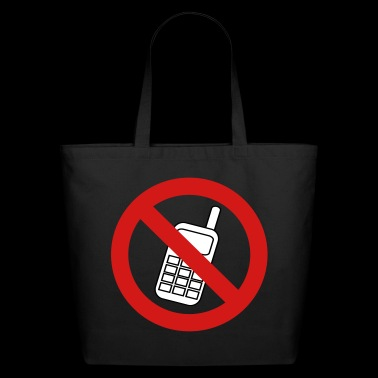 No Phone - Eco-Friendly Cotton Tote