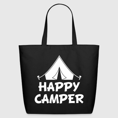 happy camper - Eco-Friendly Cotton Tote