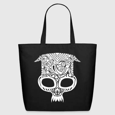 Tribal Skull - Eco-Friendly Cotton Tote
