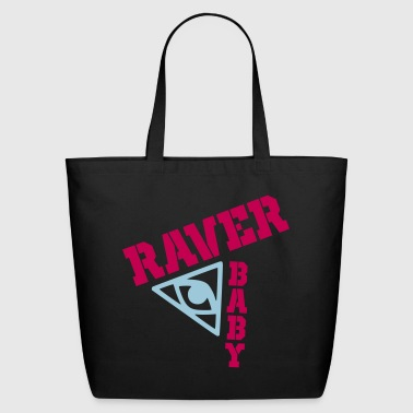 raver baby - Eco-Friendly Cotton Tote