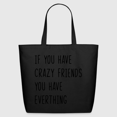 Best Friends Quote - Eco-Friendly Cotton Tote