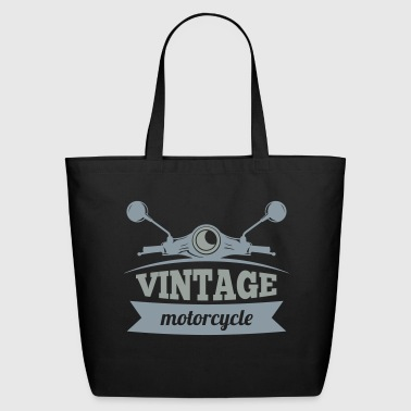 Vintage Motorcycle - Eco-Friendly Cotton Tote