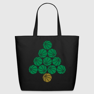 Basketball Tree  - Eco-Friendly Cotton Tote