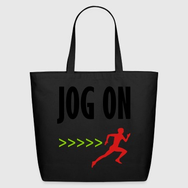 jog on 3 - Eco-Friendly Cotton Tote