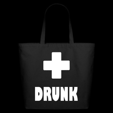 drunk plus - Eco-Friendly Cotton Tote