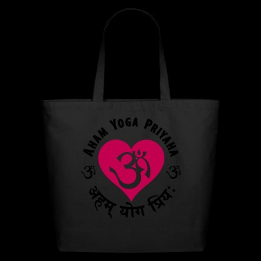 Aham Yoga Priyaha - Eco-Friendly Cotton Tote
