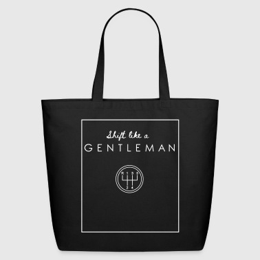 SHIFT like a GENTLEMAN - Eco-Friendly Cotton Tote