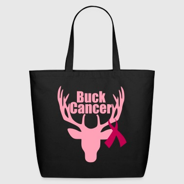 Buck Cancer - Eco-Friendly Cotton Tote