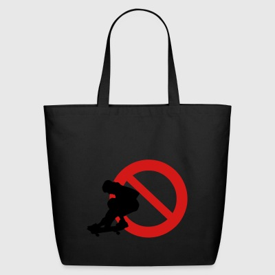 skateboard - Eco-Friendly Cotton Tote