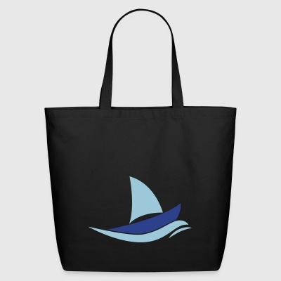 sail boat - Eco-Friendly Cotton Tote