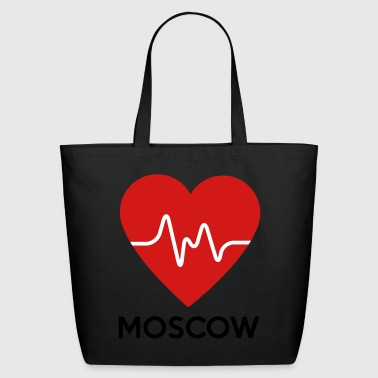 Heart Moscow - Eco-Friendly Cotton Tote