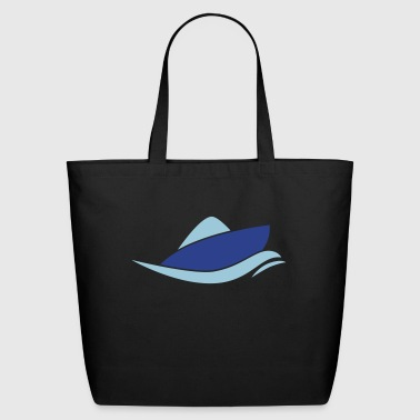 motor boat - Eco-Friendly Cotton Tote