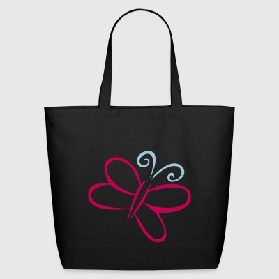 butterfly - Eco-Friendly Cotton Tote