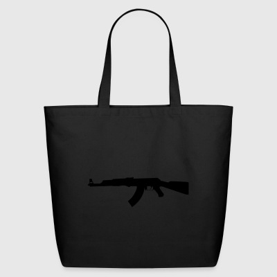AK 47 Weapon - Eco-Friendly Cotton Tote