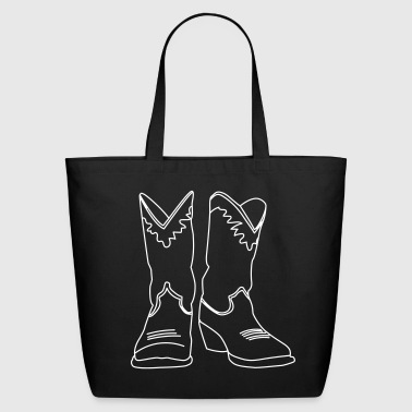 Cowboy Boots Unisex - Eco-Friendly Cotton Tote