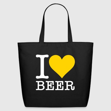 I Love Beer! - Eco-Friendly Cotton Tote