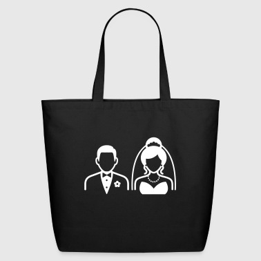 Couple / Wedding Couple - Eco-Friendly Cotton Tote