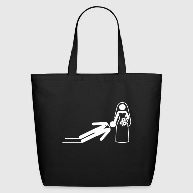 A Dominant Bride Holds Her Husband As A Slave - Eco-Friendly Cotton Tote
