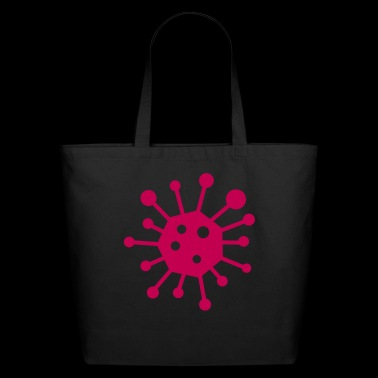 virus - Eco-Friendly Cotton Tote
